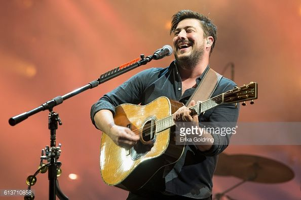 News Photo : Marcus Mumford of Mumford and Sons performs...