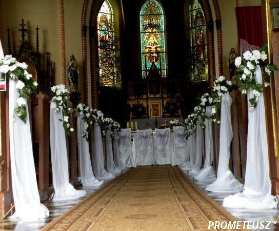 dekoracja kościoła na ślub - Google Search
