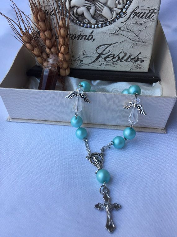 This Catholic rosary is a perfect gift for by Rosariesaccessories