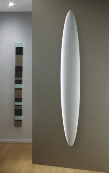 The stunning Blade vertical radiator from the Radiator Company
