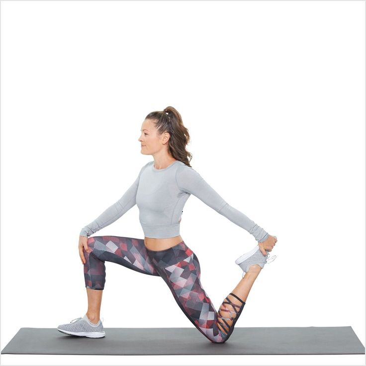 25 best ideas about quad stretch on pinterest hamstring for Floor quad stretch