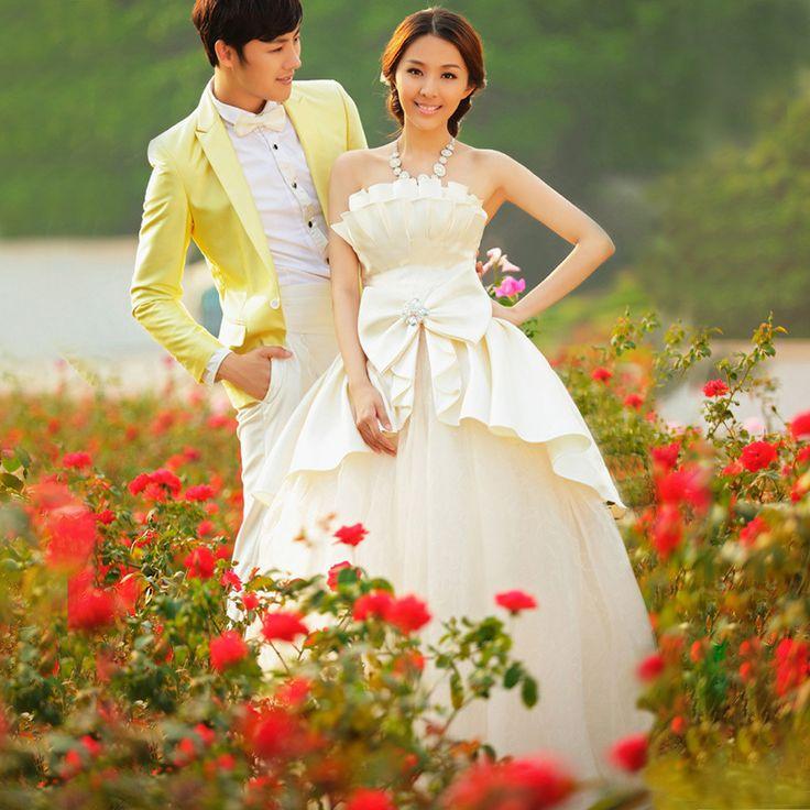 robe de mariée rétro bustier sexy de tutu de princesse douce de bandage 778