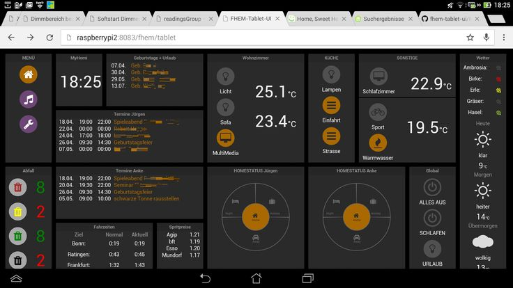 SmartHome example with FHEM As you can see from the last posts, you can …   – Smart Home