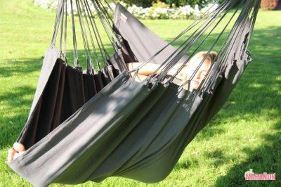 NewLine Hanging Chair XL Anthracite [XL] - €99.00 : High Quality Hammocks, Hanging Chairs, Stands and Accessories, Marañon World of Hammocks