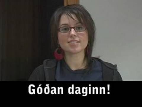 ▶ Common Phrases in Icelandic Language : Simple Greetings in Icelandic Language - YouTube