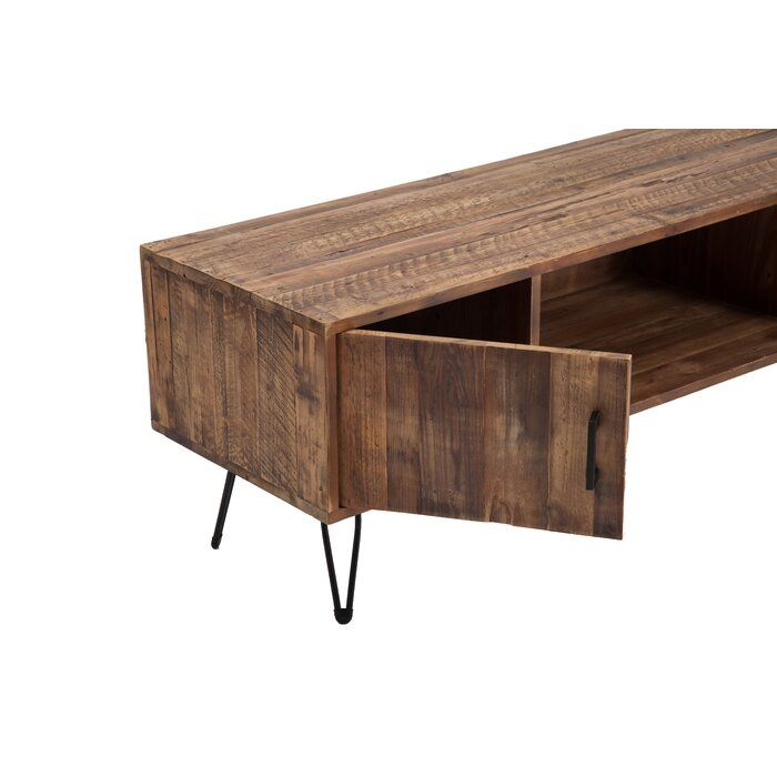 Adger Solid Wood Tv Stand For Tvs Up To 65 Inches Reviews Allmodern Solid Wood Tv Stand Tv Stand Decor Living Room Solid Wood Cabinets