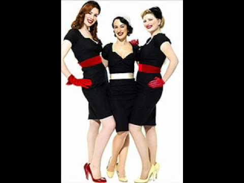 Im usually a purest, but this is fantastic!! Love the Puppini Sisters