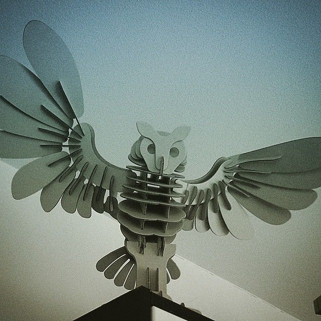 Owl puzzle by Muji