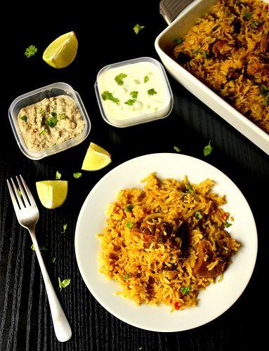 Ambur Biriyani http://amateurscookingdiary.blogspot.co.uk/2014/01/ambur-mutton-biriyani-easy-mutton.html