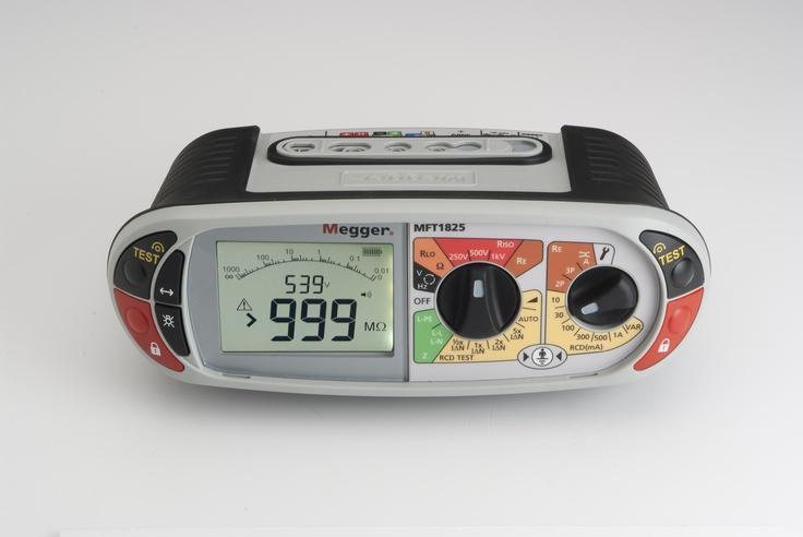 Megger MFT1825 Multifunction Tester for checking and certifying electrical installations to European wiring regulations