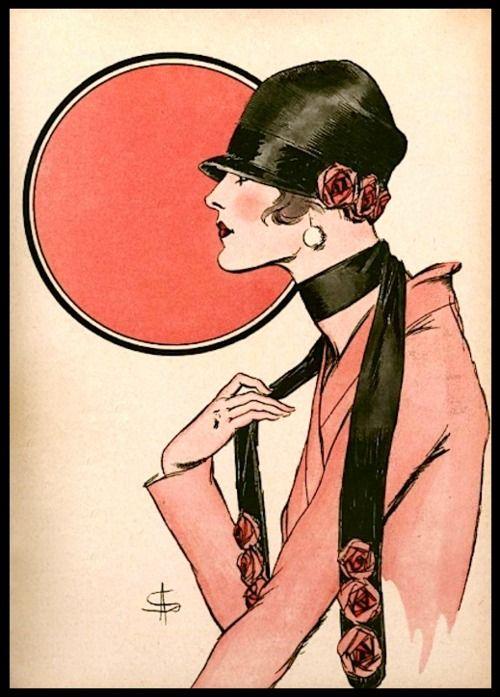 L'Art et la Mode (cover detail) - February 14, 1925 (A. Soulié)
