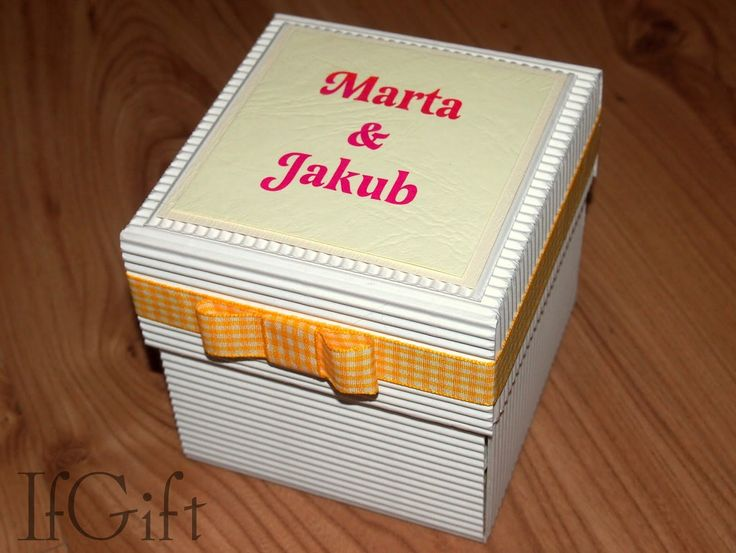 IfGift...: wedding exploding box (4/4)