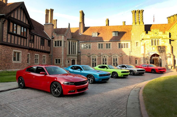 100th Anniversary 2015 Dodge Challenger Charger SRT R/T Hellcat