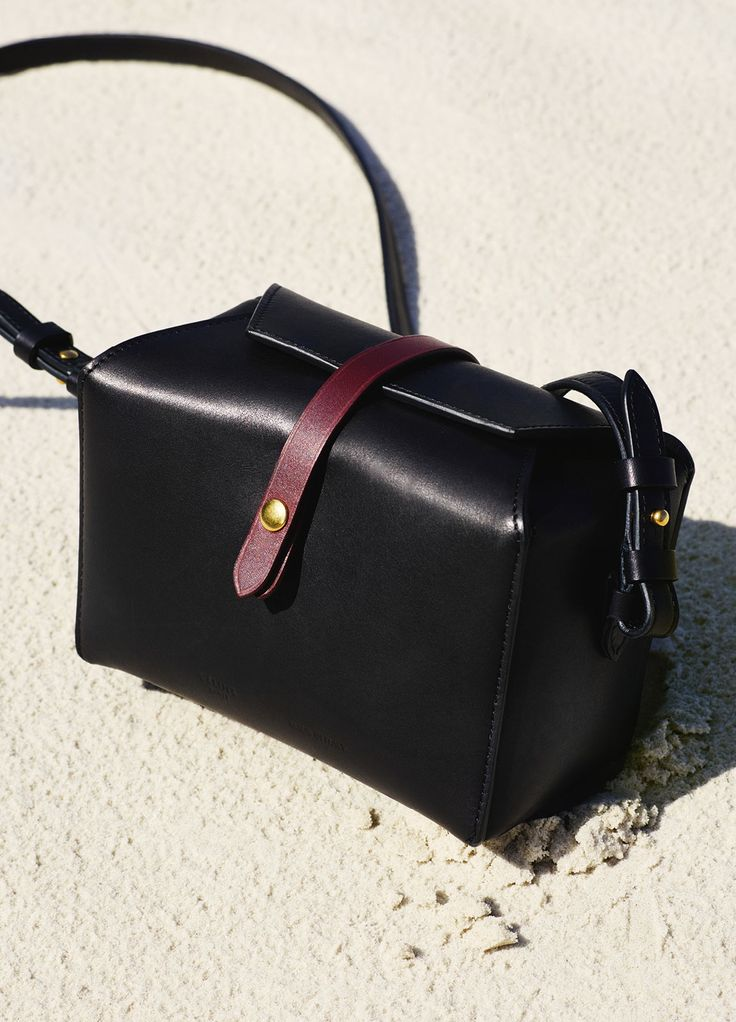 Box on Strap in Natural and Shiny Calfskin - December Collection 2015 | CÉLINE