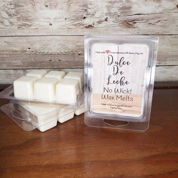 Scented Wax Scented Wax Tarts Home Fragrance Wax Melts Wax Cubes Soy Melts Soy Wax Melts Candle Melts Peaches and Cream