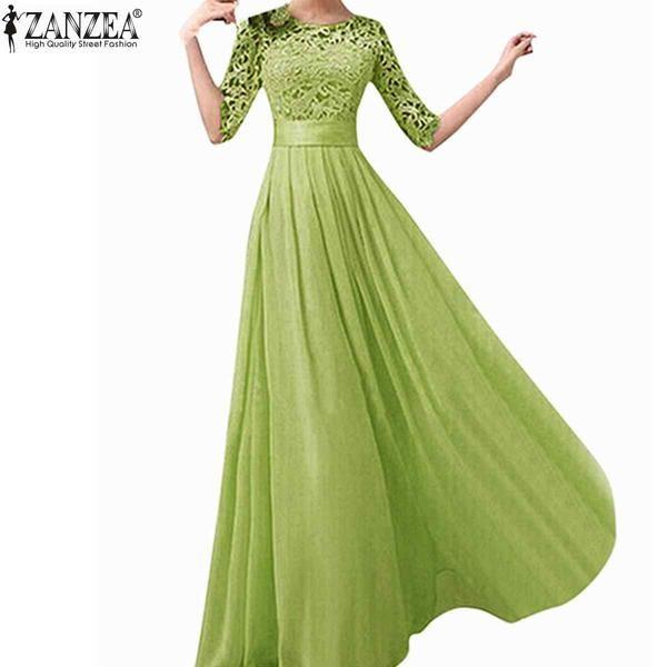 Vintage Elegant Party Long Dress