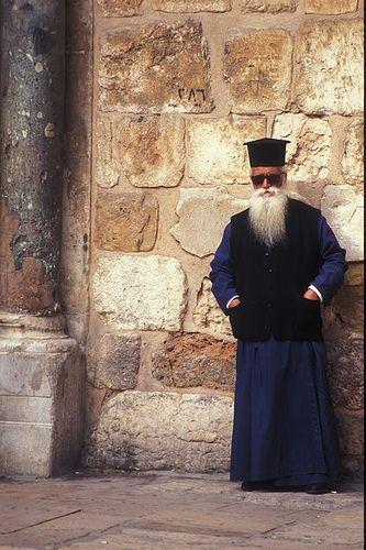 Greek Orthodox Priest - Jerusalem