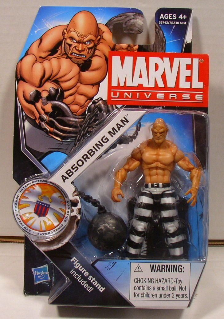 Hasbro Marvel Universe Absorbing Man Series 3 #024 Action Figure MOC/New