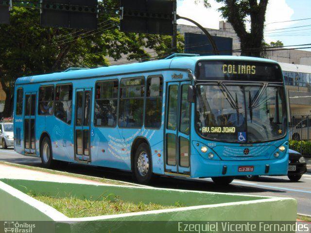 Ônibus da empresa Viação Saens Peña São José dos Campos, carro 1085, carroceria Marcopolo Viale, chassi Mercedes-Benz O-500U. Foto na cidade de São José dos Campos-SP por Ezequiel Vicente Fernandes, publicada em 13/02/2017 14:50:15.