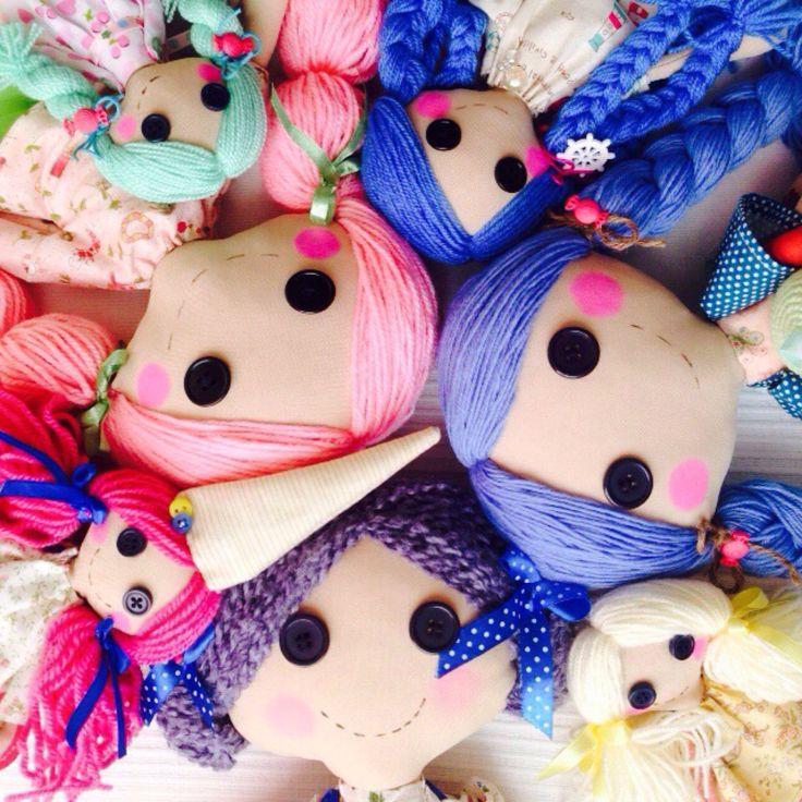 Именная кукла ЛалаЛупси - индивидуальное изделие ручной работы для вас и вашего ребенка