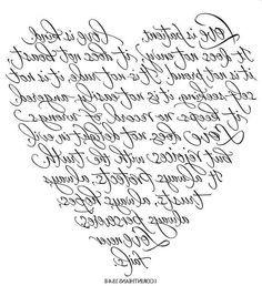 corazon heart letras etiqueta postal printable imprimible blanco y negro