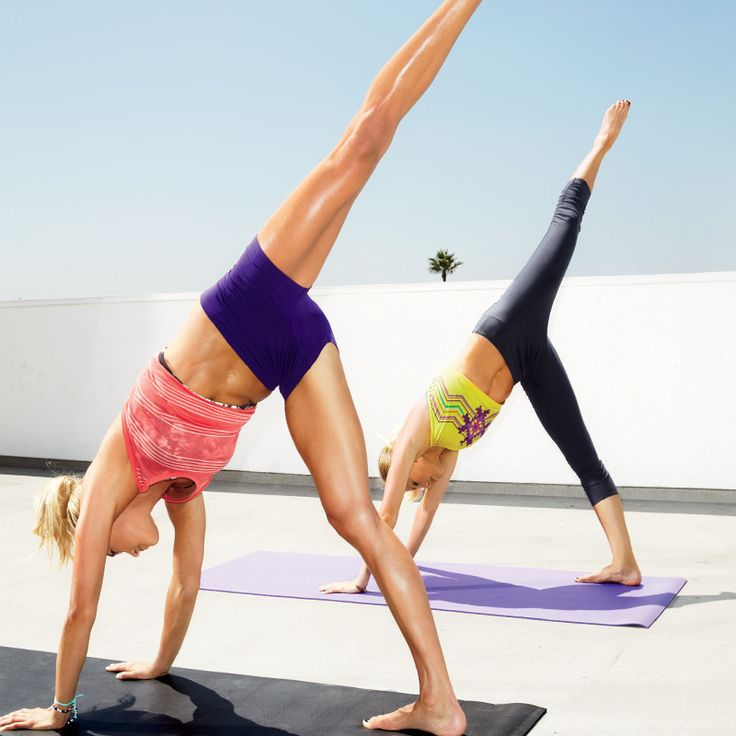 Your Dream Combo: Yoga, cardio, and core conditioning
