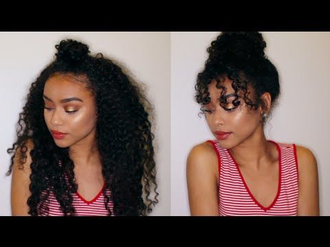 simple styles for curly hair best 25 easy curly hairstyles ideas on 6708 | 1e9f58334477a39cc5f9f81ccbb9980d curly bun hairstyles hairdos