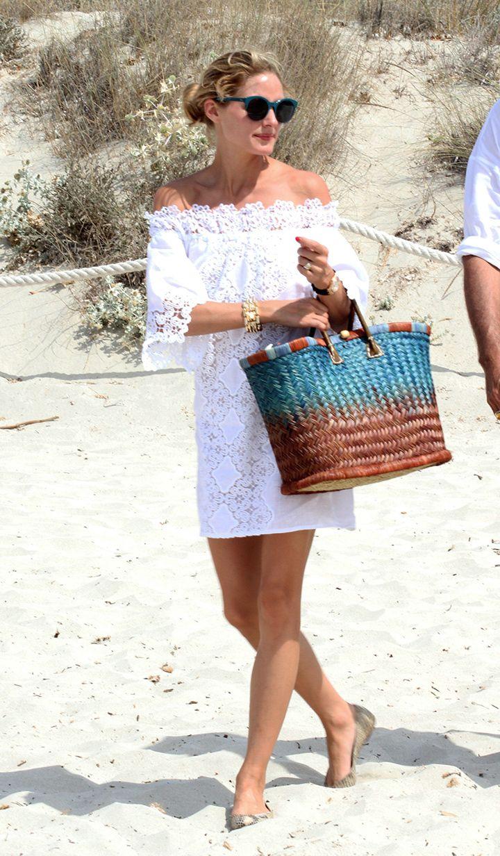 Olivia Palermo en Formentera. © Cordon Press