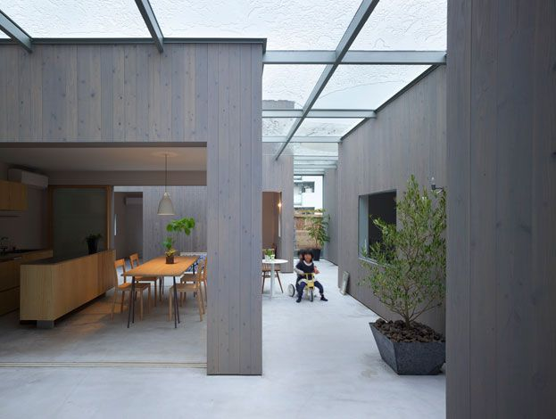 The firm of Japanese Suppose Design Studio are becoming increasingly well known for their clean simple interiors, using wood, white and plants in the finishes p