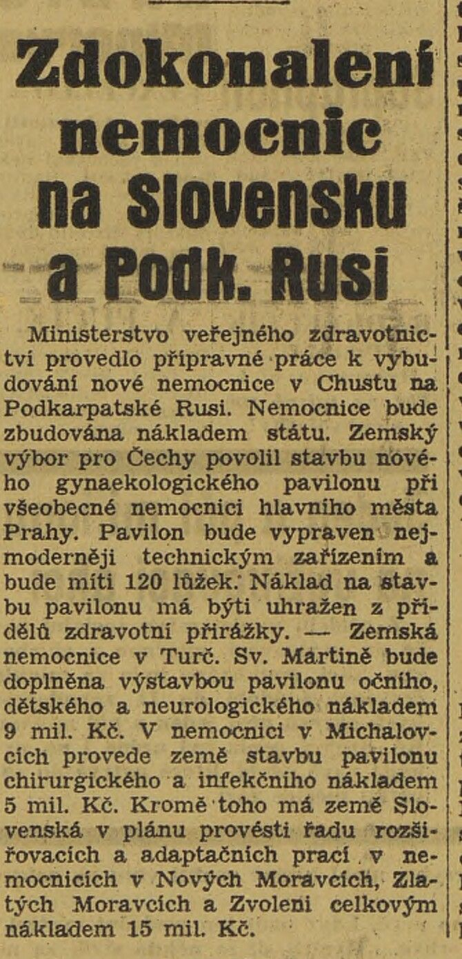 Polední list, 16.08.1938