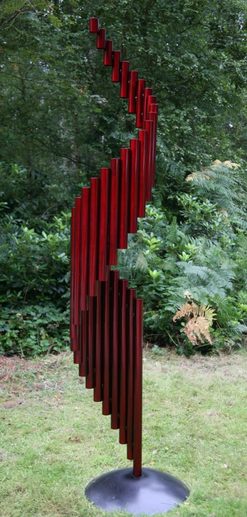 Stainless Steel Abstract Contemporary Or Modern Outdoor Outside Exterior  Garden / Yard Sculptures Statues Statuary Sculpture By Artist Thomas Joynes  Titled: ...