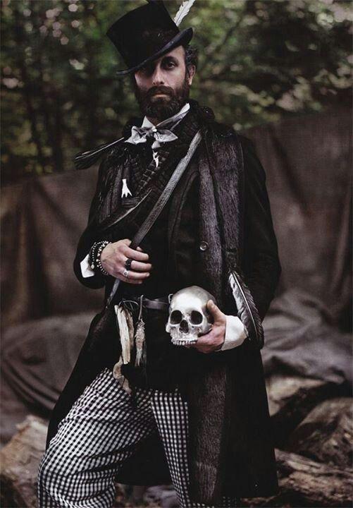 Gothic   Goth  Goths  Men  SJFVictorian Goth Men