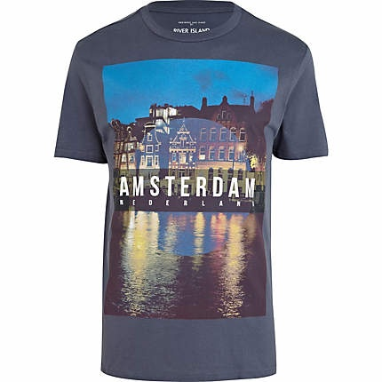 River Island t-shirt bought for my birthday in Amsterdam.