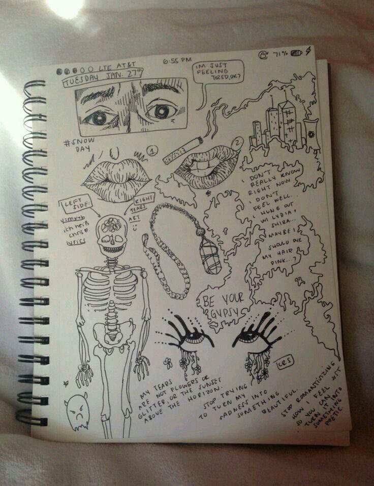 Tumblr grunge doodle                                                       …