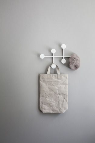 The Afteroom Coat Hanger is a compact coat hanger that offers plenty of storage hooks in a tight, sleek design. A great addition where space is at a premium or