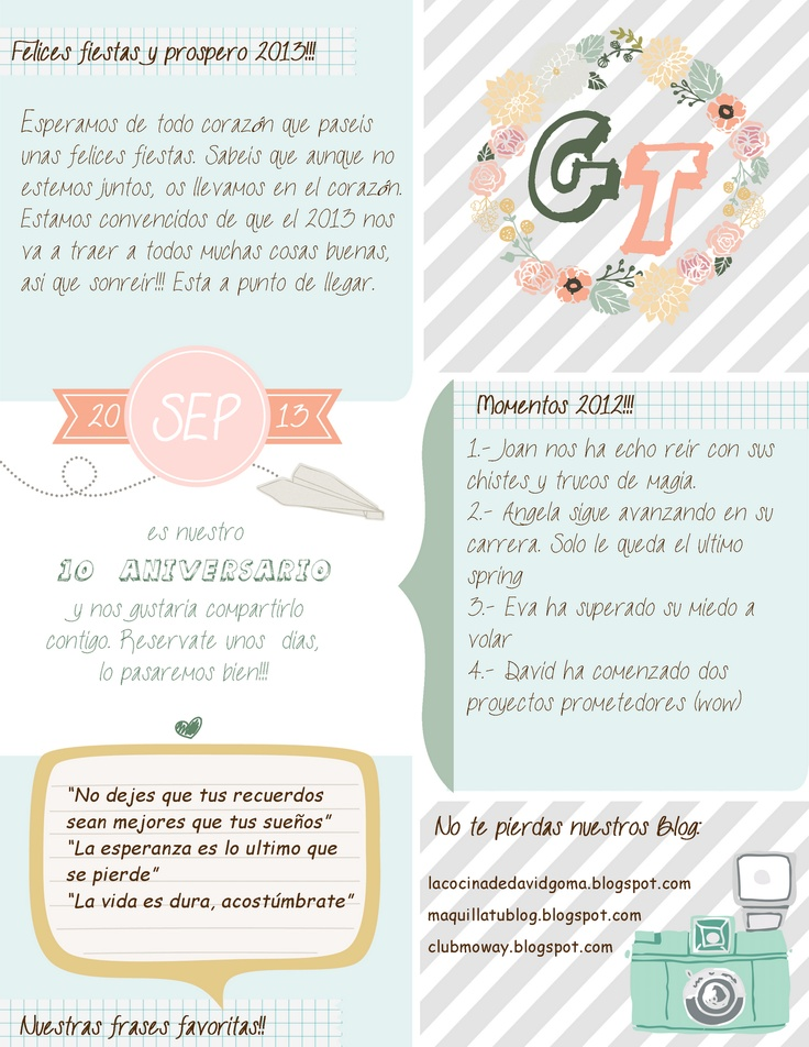 Free Newsletter Familiar!!! | Maquilla tu blog-Shabby Blog