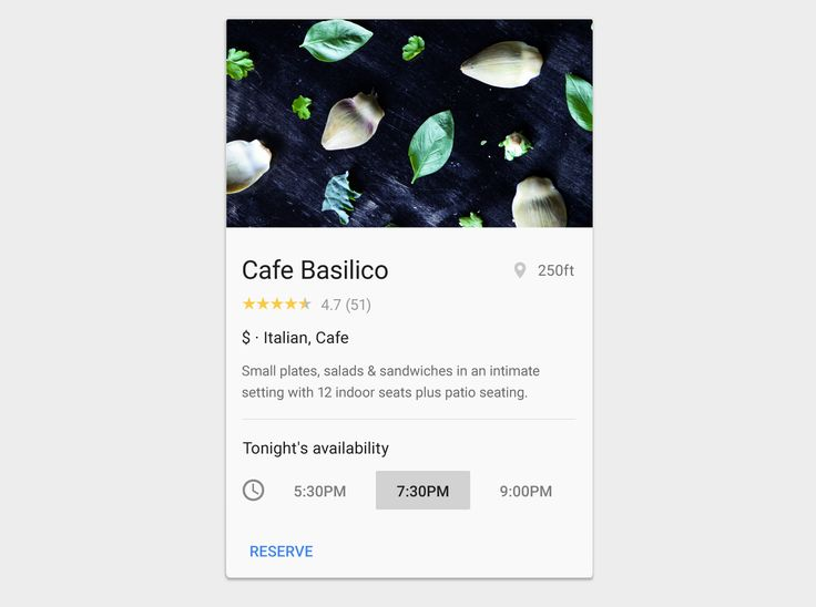 Cards - Components - Material design guidelines