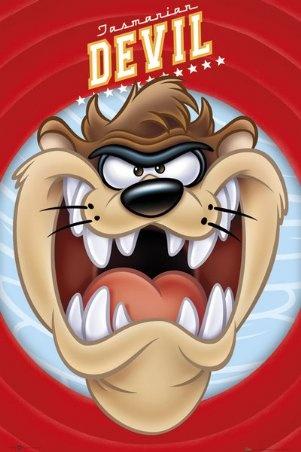 Full Face Taz - Looney Tunes