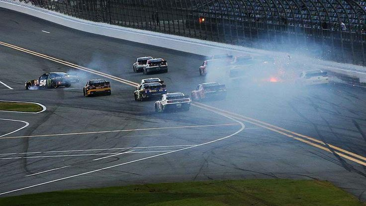Kyle Busch Daytona Crash results leg injury. Busch will miss Daytona 500 http://www.racingnewsnetwork.com/2015/02/21/kyle-busch-daytona-crash-results-leg-injury/ #kylebusch