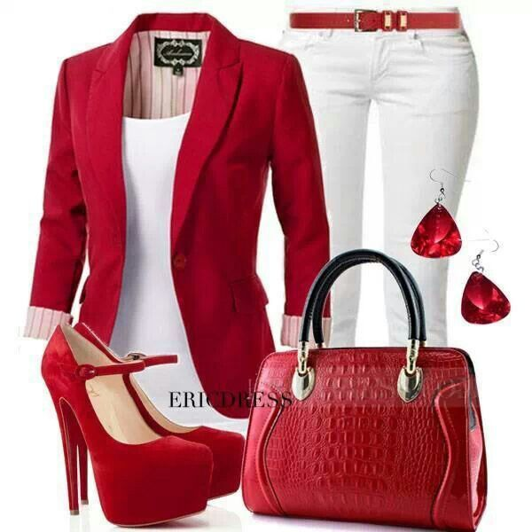 Dying for a red outfit ;)