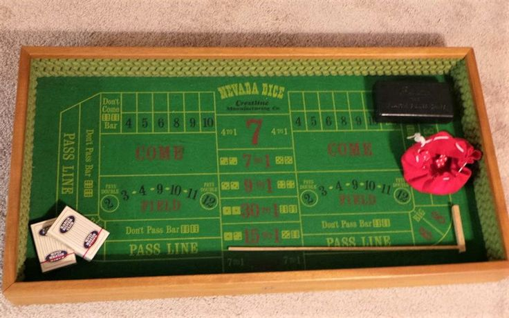 Vintage Nevada Dice Gambling Game in Vintage Box - Crestline MFG Co - Party Game by NadyasVintageNook on Etsy