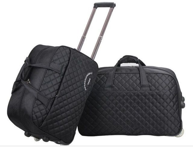 "2016 brand 24"" Large luggage Bag trolley Case travel bag on wheels for women men suitcase Travel Duffle Travel Rolling Babage"
