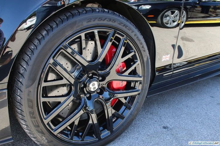 2015 Bentley Breitling Edition. As seen at the August 2015 Cars and Coffee show in Austin TX USA.
