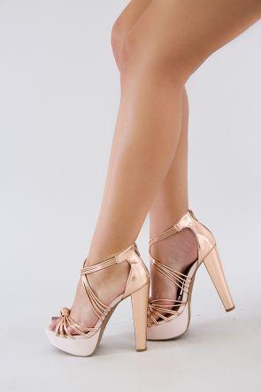 platform heels tube