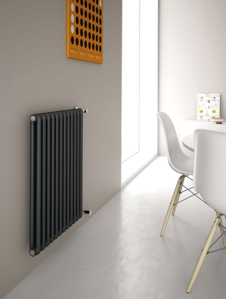 Kiclos 2 is an exclusive design modular radiator made of aluminium and composed of 25 mm long vertical 2-tube elements for single or combined use, available in a choice of 46 stylish finishes and 24 sizes.