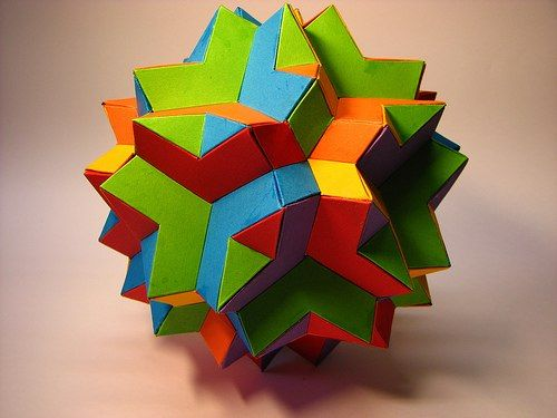 19 Best Images About Math Origami On Pinterest Sculpture