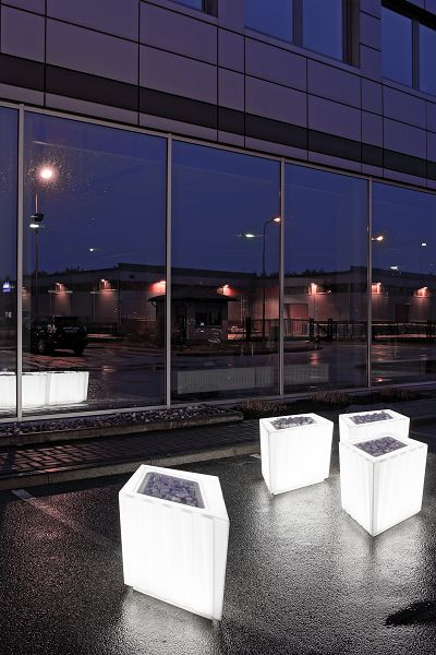 LUX BOX is a combination of light, shape, elegance, and nature which allows to brighten up environment or to separate the space with a style. This design object is multifunctional and can be combined with various additional elements. It is even possible to observe and enjoy growth of nature from the sprout to blossom.