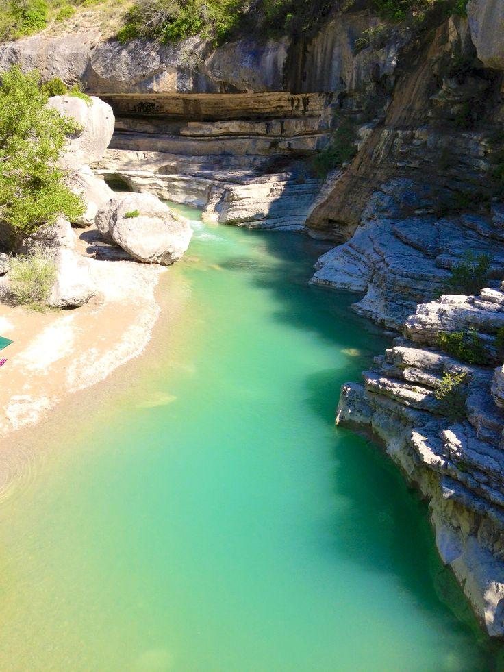Gorges de la Méouge, Provence des montagnes, France