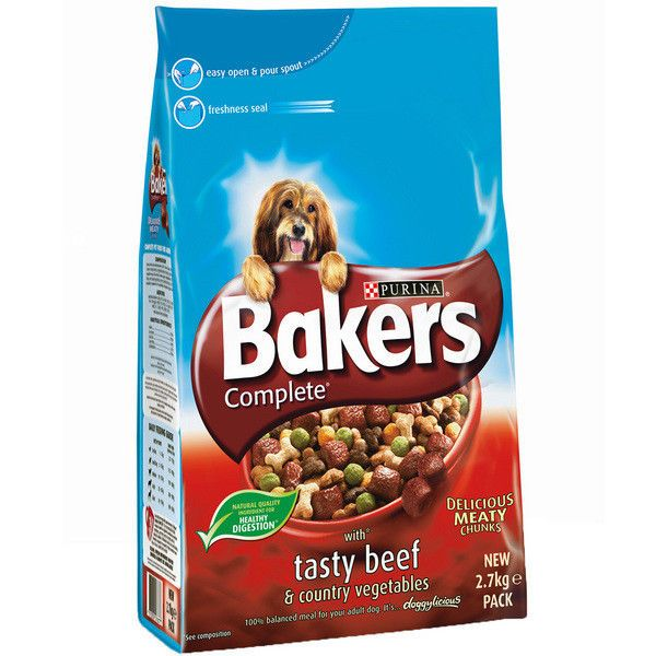 Bakers Complete Beef And Veg 14kg Dog Food Recipes Dog Food