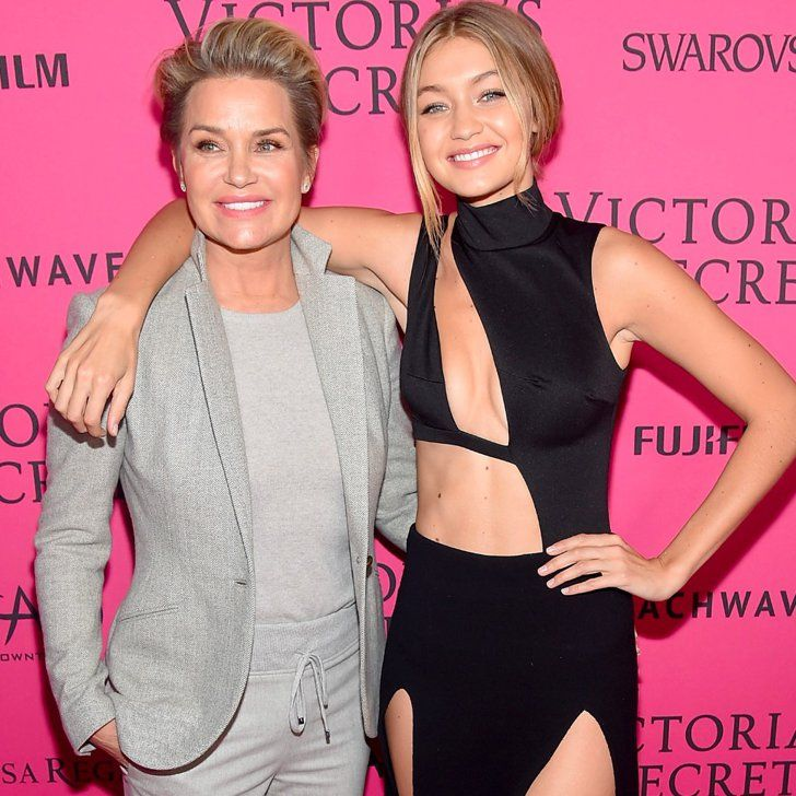 Gigi Hadid Hangs With Her Model Mom, Yolanda Foster, at the VS Afterparty